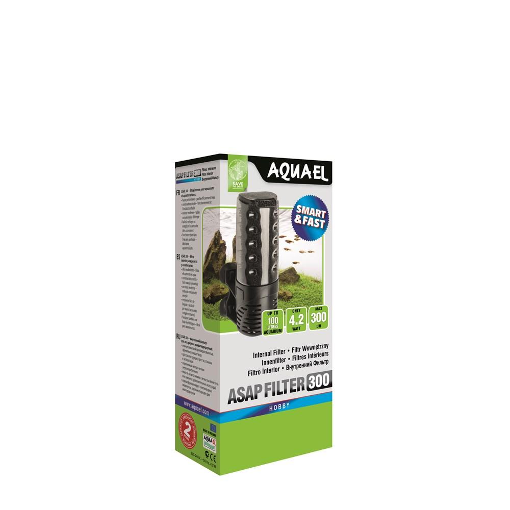 AQUAEL ASAP 300 - Внутренний фильтр для аквариумов объёмом до 100 л. 300 л/ч