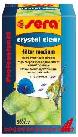 sera Crystal Clear 12 шт - на 360 л воды - промываемый наполнитель для тонкой очистки воды в аквариу