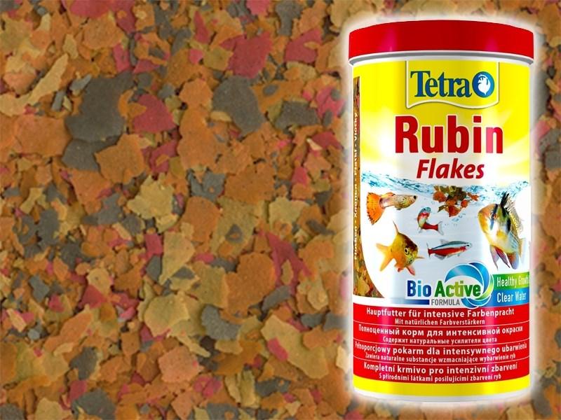 Tetra Rubin 50 г (соответствует объёму 250 мл) на развес - корм в хлопьях для улучшения окраски