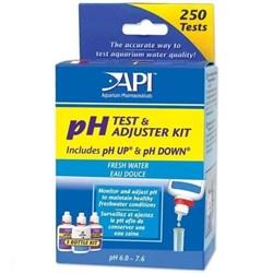 API Freshwater Deluxe pH Test Kit - Набор для измерения и изменения уровня pH в пресной воде - фото 17332