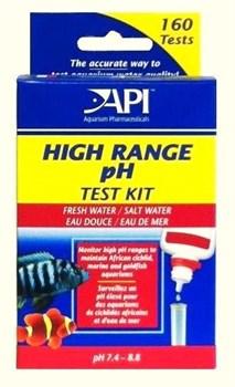 API Hige Range pH Test Kit - Набор для измерения уровня pH в пресной и морской воде - фото 17335