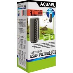 AQUAEL - картридж для фильтров ASAP-700 - с губкой и углём - фото 17450