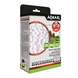 AQUAEL BioCeraMax Ultra PRO 1600 1л - керамический наполнитель для биологической фильтрации в аквариумных фильтрах - фото 17546
