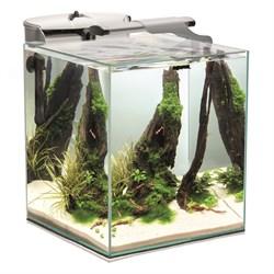 AQUAEL Shrimp Set DUO LED 49л аквариум белый, 35х35х40см - фото 17909
