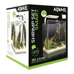 AQUAEL Shrimp Set Smart II 30 л - аквариум черный - фото 17918
