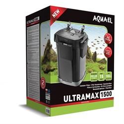 AQUAEL Ultramax-1500 - внешний фильтр для аквариумов 250-400 л, 1500 л/ч, 4 корзины по 1,9 л - фото 17969
