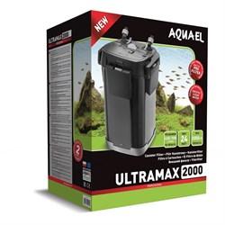AQUAEL Ultramax-2000 - внешний фильтр для аквариумов 400-700 л, 2000 л/ч, 5 корзин по 1,9 л - фото 17977