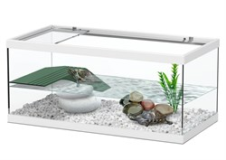 Aquatlantis TORTUM 40 - Аквариум для черепах, 40х20х18 см, белый - фото 18400
