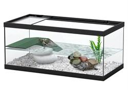 Aquatlantis TORTUM 40 - Аквариум для черепах, 40х20х18 см, черный - фото 18401