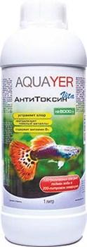 Aquayer АнтиТоксин Vita 1 л - Комплексный кондиционер для воды с витамином В1 - фото 18439