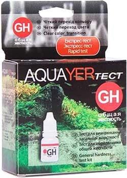 Aquayer тест GH - тест на общую жесткость - фото 18467