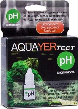 Aquayer тест pH - фото 18469