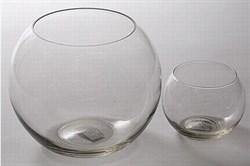 Aквариум 3л круглый плоскодонный - фото 18521