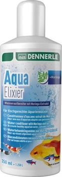 Dennerle Aqua Elixier 250 мл - кондиционер для подготовки аквариумной воды - на 1250 воды - фото 18669