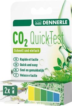 Dennerle CO2 Quick-Test - быстрый тест на содержание углекислого газа в воде, 2 тестовые пробирки - фото 18697
