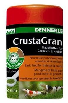 Dennerle Crusta Gran - гранулированный основной корм для креветок и мелких раков, гранулы 2мм. 100мл - фото 18718
