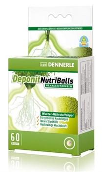 Dennerle Deponit NutriBalls, 60 шт. - корневое удобрение в виде шариков для аквариумных растений - фото 18723