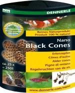 Dennerle Nano Black Cones - Ольховые сережки  25 шт. - фото 18759