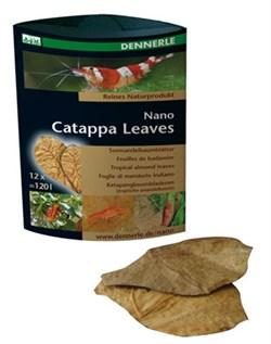 Dennerle Nano Catappa Leaves - Листья миндального дерева 12 шт. - фото 18763