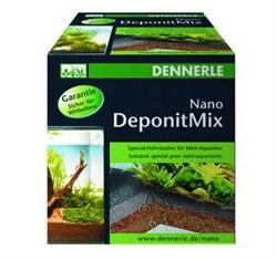 Dennerle Nano Deponit Mix - специальная грунтовая подкормка для мини-аквариумов. Готовая смесь, 1 кг. - фото 18776