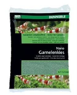 Dennerle Nano Garnelenkies - грунт для мини-аквариумов, цвет Java green (зеленый), фракция 0,7-1,2 мм., 2 кг. - фото 18785