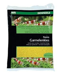 Dennerle Nano Garnelenkies - грунт для мини-аквариумов, цвет Panama yellow (желтый), фракция 0,7-1,2 мм., 2 кг. - фото 18786