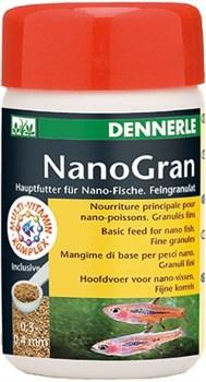 Dennerle Nano Gran - основной корм в виде мини-гранул для небольших рыбок, 100 мл - фото 18790