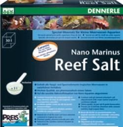 Dennerle Nano Marinus SeaSalt - морская соль для морских нано-аквариумов, 1 кг - фото 18794