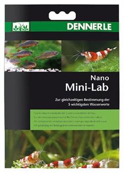 Dennerle Nano MiniLab - Минилаборатория для тестирования 5-ти показателей пресной аквариумной воды  в нано-аквариумах - фото 18795