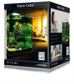 Dennerle NanoCube Complete+ 60 Style LED L - Нано-аквариум с расширенным комплектом для установки и светильником Nano Style LED L, 38x38x43 см, 60 л - фото 18810