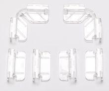 Dennerle Комплект креплений для покровного стекла аквариумов Dennerle NanoCube - фото 18933