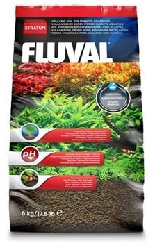 Fluval Stratum 8 кг - питательный грунт для креветок и растений - фото 19265