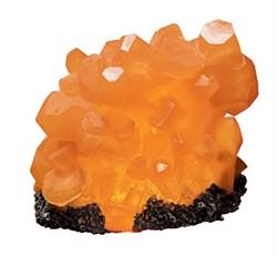 H2Show - Оранжевый Цитрин + оранжевая подсветка (декорация для аквариума) - фото 19305