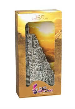 H2Show Lost Civilization - Пирамида Ацтеков (декорация для левого угла аквариума) - фото 19321