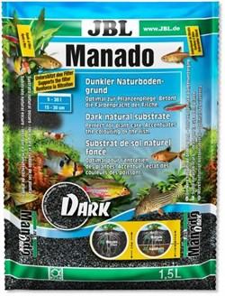 JBL Manado DARK 10 л - тёмный натуральный субстрат для аквариума - фото 19918