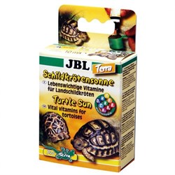JBL Tortoise Sun Terra 10 мл - Мультивитаминный препарат для сухопутных черепах - фото 20142