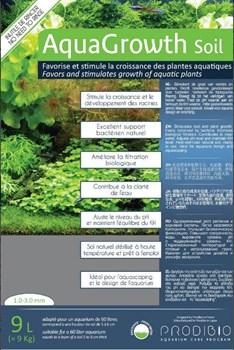 Prodibio AquaGrowth Soil 9 литров - питательный почвенный грунт для аквариумных растений, 1-3 мм - фото 20609