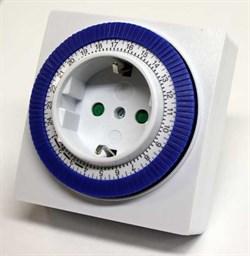 Robiton - таймер суточный электромеханический с заземлением - фото 20674