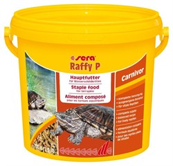 sera Raffy P 3,8 л - корм для плотоядных черепах в палочках - фото 21118