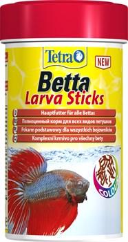 Tetra Betta Larva Sticks (палочки) 100 мл - корм для лабиринтовых рыб - фото 21793
