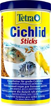 Tetra Cichlid Sticks 1 л - основной корм для цихлид (палочки) - фото 21897