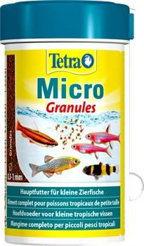 Tetra Micro Granules 100 мл - корм для рыб, микро гранулы - фото 22351