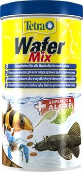 Tetra Wafer Mix 1 л - корм для донных рыб и ракообразных - фото 22837