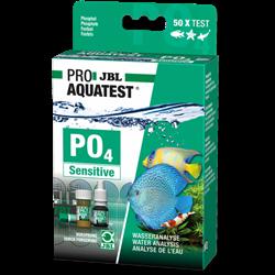 JBL Phosphat Test-Set PO4 sensitiv - Высокочувствительный тест для определения содержания фосфатов в пресной и морской воде на 50 измерений - фото 23820