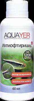 Aquayer Ихтиофтирицид 60 мл - фото 24160