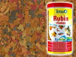 Tetra Rubin 200 г (соответствует объёму 1 л) на развес - корм в хлопьях для улучшения окраски - фото 24311