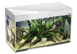 AQUAEL Glossy 100 белый (215л) аквариум с LED освещением - фото 25105