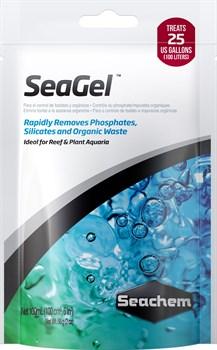 Seachem SeaGel 100 мл - наполнитель для удаления органических загрязнений и фосфатов, на 60-125л - фото 26269