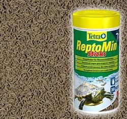 Tetra ReptoMin 270г на развес (эквивалент банки 1л) - полноценный корм для водных черепах и других плотоядных рептилий - фото 26473
