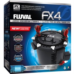 Fluval  FX-4 - внешний фильтр для аквариумов до 1000 литров - фото 26518